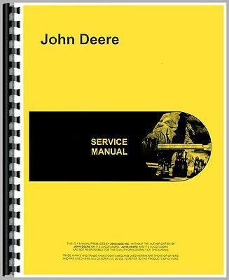 New Service Manual For John Deere Crawler 1010 Loader Attch G & D (D&amp G)