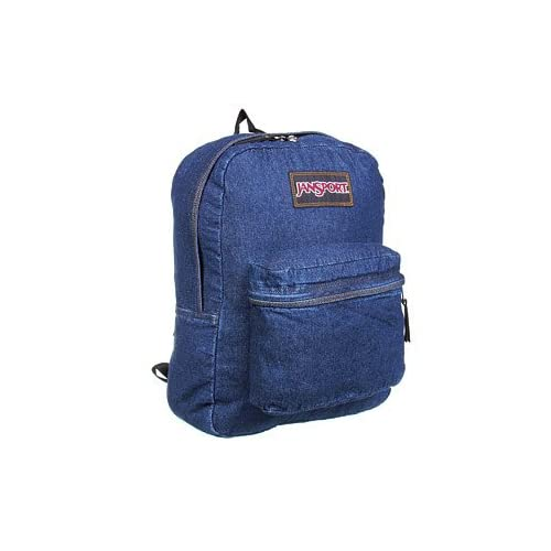 Amazon.com: Jansport denim daze blue denim backpack
