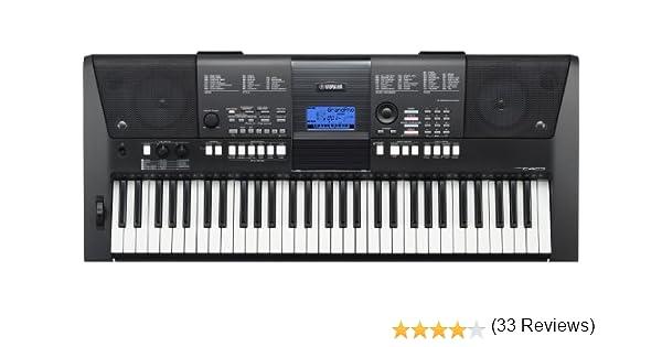 Yamaha PSR-E423 Teclado (61 teclado) [importado de Alemania]: Amazon.es: Electrónica