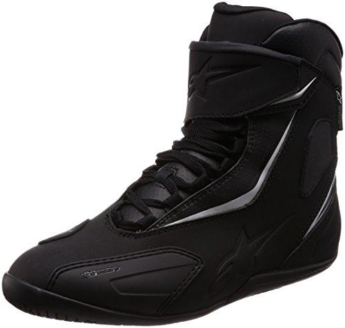 (Alpinestars Fastback-2 Drystar Riding Shoes (9) (BLACK/BLACK))
