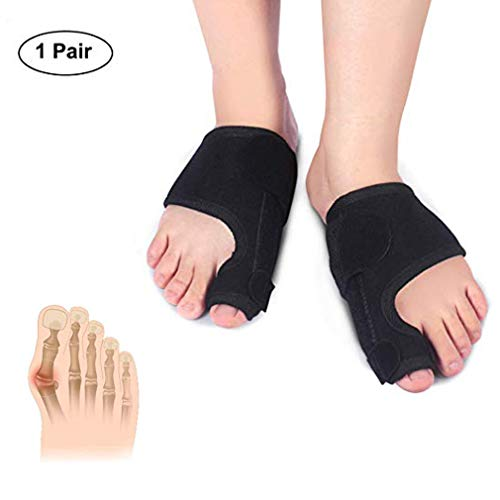 Bunion Corrector, Adjustable Bunion Splint, Orthopedic Toe Straightener for Men and Women, Bunion Sleeves Brace for Hallux Valgus Pad, Joint Pain Relief, Alignment Treatment