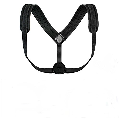 Posture Corrector Adjustable Correction Shoulder Support Brace Back Belt Posture Corrector For Women And Men With Stainless Steel Brackets by PipeTecPro
