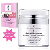 Face Moisturizer Is For What - Retinol Moisturizer Cream for Face – With Retinol, Hyaluronic Acid, Vitamin E and Green Tea. Best Anti- Aging Night and Day Time Moisturizing Cream 1.7 FL Oz