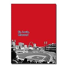 """St Louis Cardinals 12x16"""" Poster Print Wall Art Décor"""