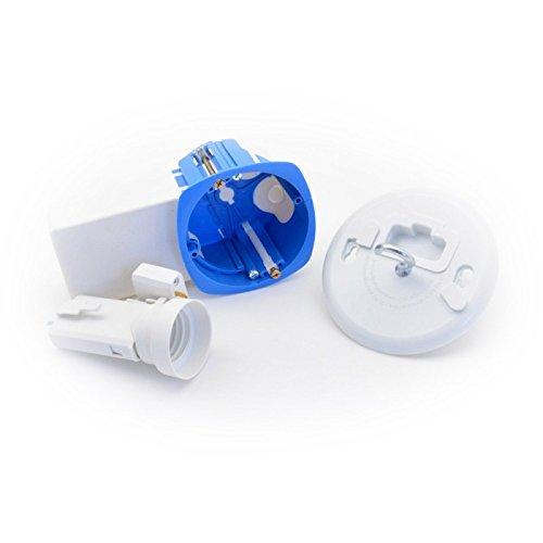 Boite d'encastrement avec poche pour micromodule version point de centre - BLM Planète Domotique
