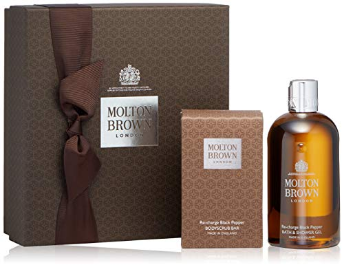Molton Brown Re-charge Black Pepper Bathing Gift Set, 26 oz.