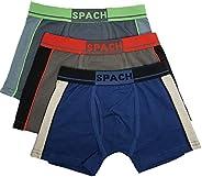 Spach Boys Boxers, Solid Colors Boys Underwear Boxer Briefs,