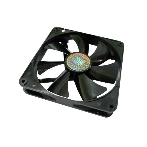 Cooler Master Sleeve Bearing 140mm Silent Fan for Computer Cases and - 140mm To Cm