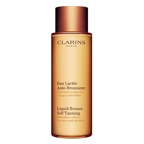 Clarins Liquid Bronze Self Tanning for Face and Décolleté 125ml ()