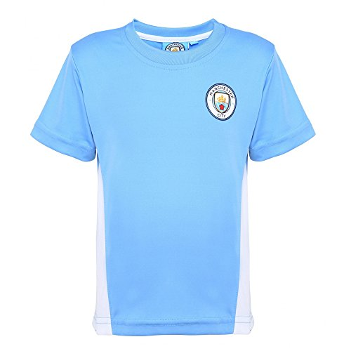 Official Football Merchandise Childrens/Kids Manchester City FC T-Shirt – Sports Center Store