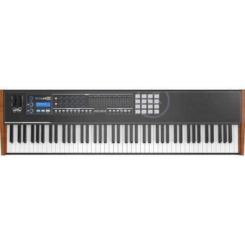 Arturia KeyLab 88 Limited Edition Black MIDI/USB Hammer-Action Hybrid Keyboard Controller by Arturia