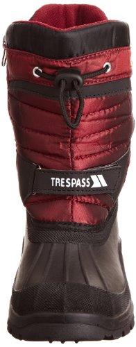 Noir Bottes Rouge Mixte De Neige Trespass Kukun 1z8fq14