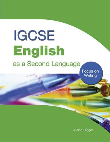 igcse english as a second language focus on writing amazoncouk  igcse english as a second language focus on writing amazoncouk alison digger  books