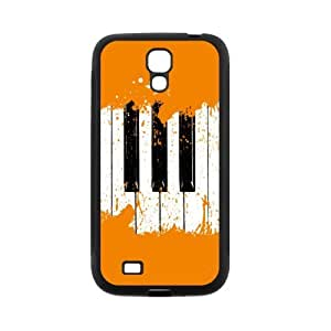 super shining day Best Piano Keys SamSung Galaxy S4 I9500 Back Covers With TPU Material