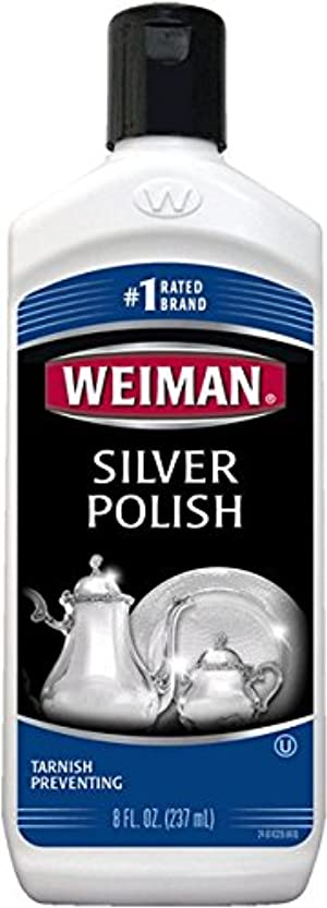 Weiman Silver Polish 8Oz Bottle 3-Pack