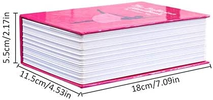Wateralone Caja Fuerte en Forma de Libro con candado de ...