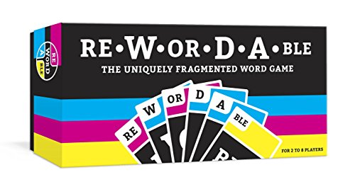 Rewordable Card Game  The Uniquely Fragmented Word Game