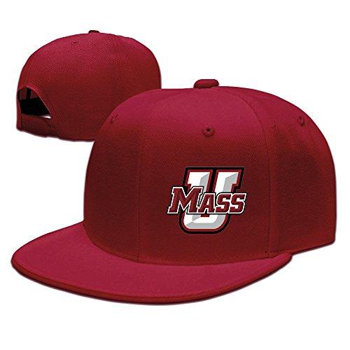 (NUBIA Mass Logo Custom Trucker Hat Adjustable Flat Bill Hat Red )