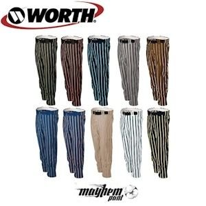 Worth Mayhem Pant - Texas Orange/White/Black - XXXL (Orange Mayhem Pants)