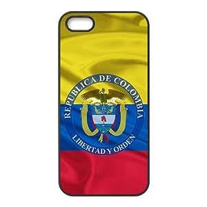 linJUN FENGRepublica de Colombia libertad y orden Cell Phone Case for iPhone 5S