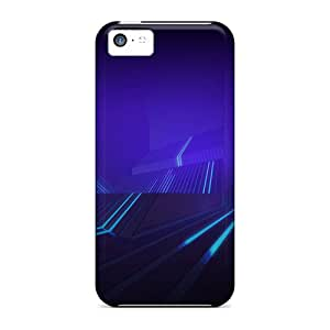 (JEF1743eKor)durable Protection Cases Covers For Iphone 5c(tron Honeycomb)