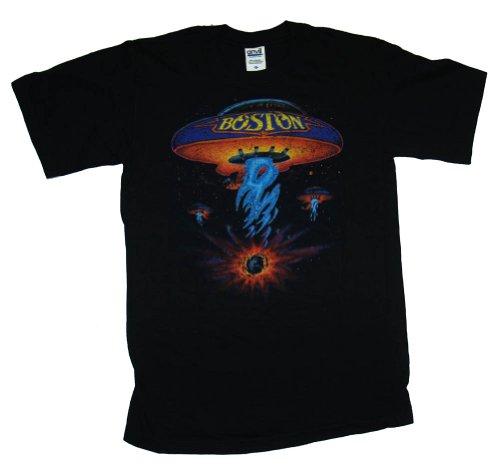 Boston Spaceship Classic Rock Adult T-shirt