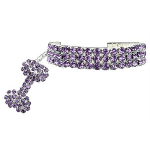 PETFAVORITES Rhinestones Necklace Jewelry Chihuahua