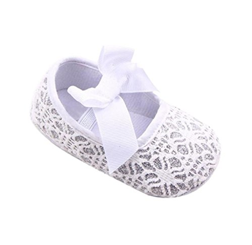 ❀Baby Crib Shoes Girl,Toddler Glitter Sneakers Anti-Slip Soft Sole Shoes By Orangeskycn (6~12 Month, - To Bend North Directions