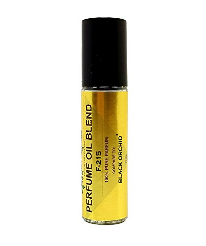 - Perfume Studio IMPRESSION Perfume Oil Blend F-215. Made from Skin Safe Ingredients. Use for Beauty, Bath & Body, Candle Making Products. Glass Roll On (Black Orchid-10ml)