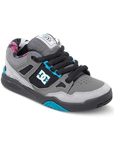 DC Shoes Stag 2 KB - Zapatillas Bajas Para Niño ADBS100148 GREY/GREY/BLACK