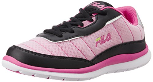 Fila Women's Nozzo Black and Pink Running Shoes -6 UK/India(40 EU)(7 US)