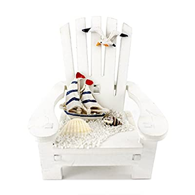 "Handmade Cute Sail Boat ""Sunshine Chair"" Home Decor Article,photograph Setting"