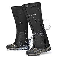QTECLOR Leg Gaiters Waterproof Snow Boot...