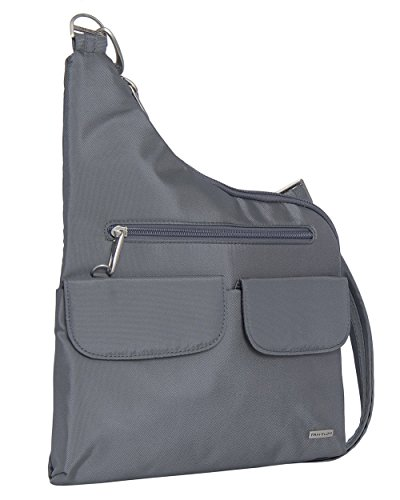 Travelon Anti-Theft Cross Body Bag Grey by Travelon