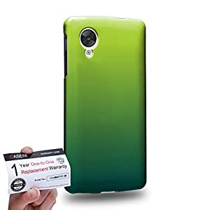 Case88 [LG Nexus 5] 3D impresa Carcasa/Funda dura para & Tarjeta de garantía - Art Design Gradient St Patrick