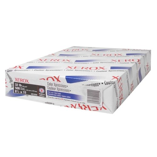(XER3R11550 - Copy/Printer Paper,98 GE/114 ISO,32Lb,8-1/2x11,500/RM,WE )