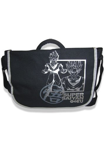 [해외]그레이트 이스턴 엔터테인먼트 Dragon Ball Z Super Saiyan Goku 메신저 백/Great Eastern Entertainment Dragon Ball Z Super Saiyan Goku Messenger Bag