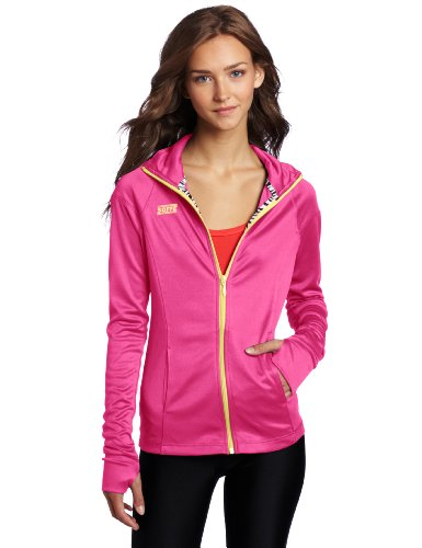 Soffe Juniors Nu Wave Jacket, Pink Glo, Large