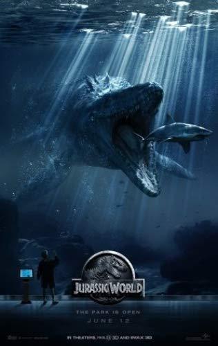 JURASSIC WORLD - US adibag Movie Wall Poster Print - 30 cm X ...
