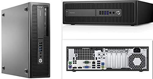 (Renewed) HP Elite-Desk 800 G2 SFF Desktop(Core i5-6th Gen/16 GB RAM(Upgradable to 32GB)/ 1 TB SSD/ Windows 10 Pro, MS Office/ USB, Ethernet, Intel graphics, PAN INDIA WARRANTY), Business Black
