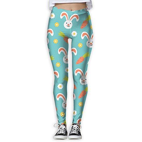 Bunny Love Carrot Women's Popular Yoga Workout Pants Super Stretch Leggings Pants