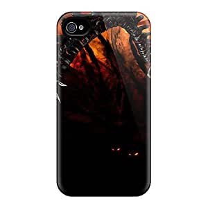 New Fashionable ArtCart AIi12138iYaj Cover Case Specially Made For Iphone 4/4s(the Darkness Ii 2012 Game)