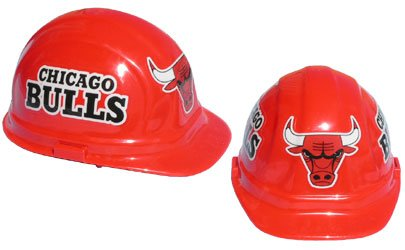 WinCraft NBA Chicago Bulls Packaged Hard Hat ()