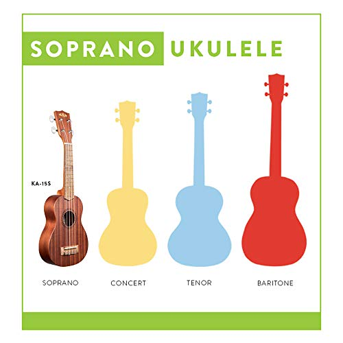 Large Product Image of Official Kala Learn to Play Ukulele Soprano Starter Kit, Light Mahogany – Includes online lessons, tuner, and app, Light Mahogany Stain, Learn to Play Kit