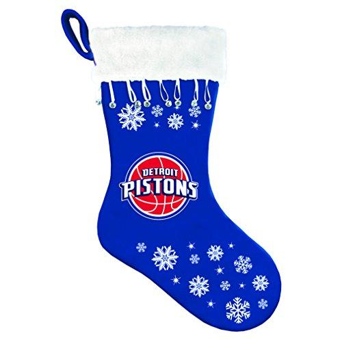 Boelter Brands NBA Detroit Pistons Snowflake Stocking - 351358