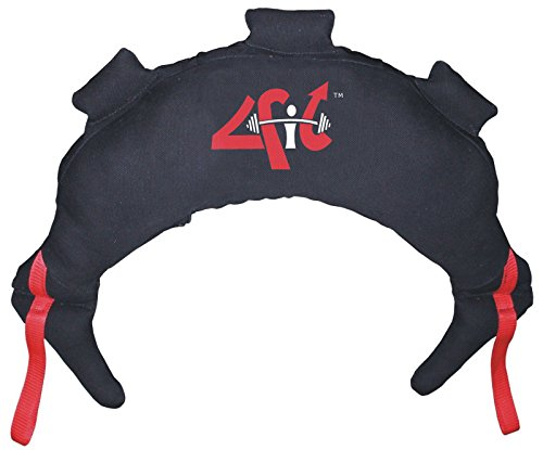 4Fit Bulgarian Bag Canvas Fitness, Crossfit, Wrestling, Judo, MMA, Sandbag (5KG/11LBS) by 4Fit Inc