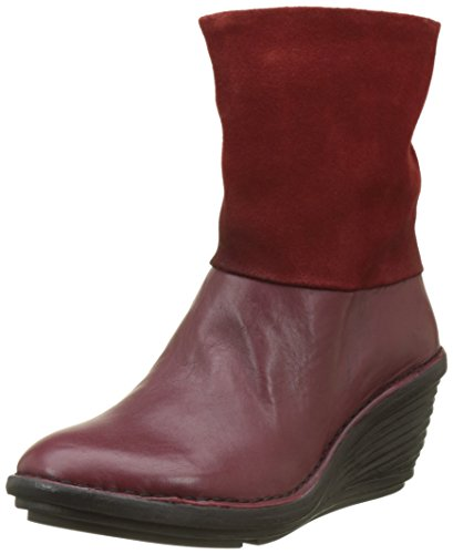 Mujer London Fly Red Rojo Botas para Sina671fly Cordoba d6wxWqwIZn