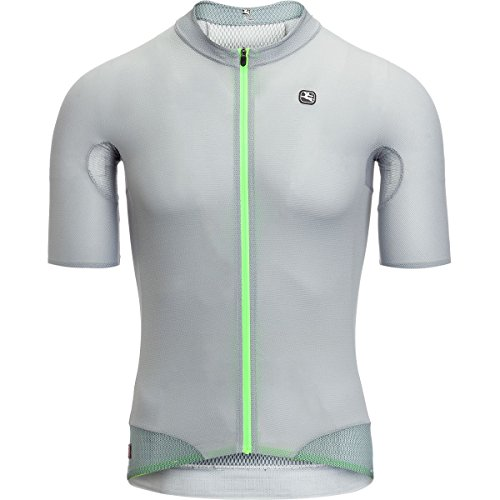 Giordana FR-C Short-Sleeve Pro Lyte Jersey - Men's Grey, M