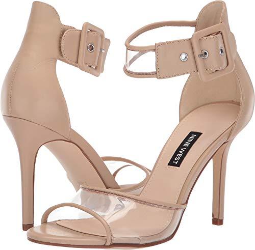 Nine West Women's Mila Heeled Sandal Light Natural 7.5 M US
