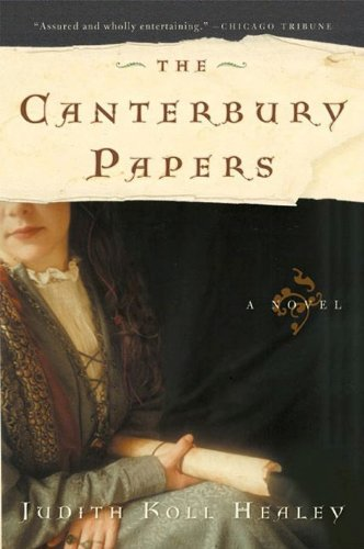 The Canterbury Papers: A Novel (Alais Capet) cover